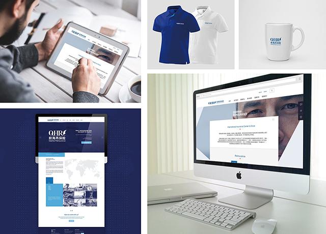 logo设计,vi设计,海报设计,网页设计-前海再保险股份有限公司